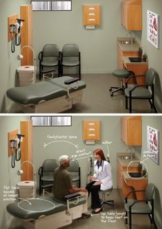 Midmark   EMR Barrier Free Workflow B. #officedecor Interior #architecture  · Medical Office ...