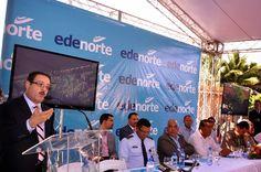Revista El Cañero: EDENORTE inaugura 24 horas en Nibaje, La Vega