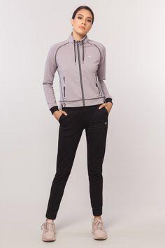 BİLCEE - bilcee 18W-6177 KADIN ORME ESOFMAN TAKIM Hooded Jacket, Athletic, Zip, Jackets, Fashion, Jacket With Hoodie, Down Jackets, Moda, Athlete