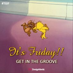 Life is good, especially on Friday! ;)