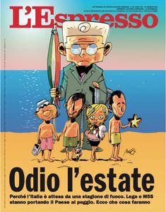 La copertina dell'Espresso in edicola da domenica 13 maggio