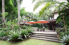 Willie Revillame lives in a resort-like home in Quezon City Willie Revillame, Cebu, Quezon City, Celebrity Houses, Tropical Houses, Garden Landscaping, Patio, Ph, Landscape