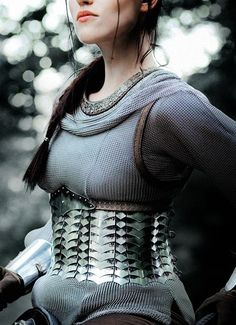 Armour for a Shieldmaiden in training.