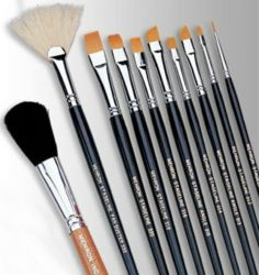 Mehron Stageline Makeup Brush deluxe professional quality cosmetic accessory new