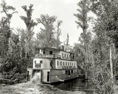 St. Johns riverboat, circa 1890's