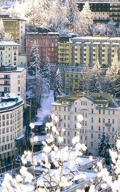 Bad Gastein, Austria >>> It's a winter wonderland... :)