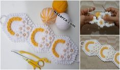 Pencil And Paper, Craft Gifts, Doilies, Pot Holders, Crochet Earrings, Crochet Patterns, Diy Crafts, Make It Yourself, Flamingo