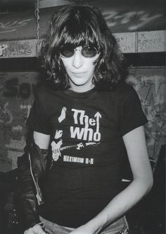 joey with The Who! t-shirt