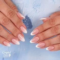 french of babyboom? 😉   by Nails by Sabrina Xtreme, Crystal Nails, Nail Artist, Manicure, Nail Designs, Crystals, Beauty, Nail Bar, Nails