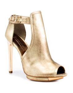 BCBG Dark Gold Shoes