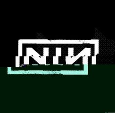 Nine Inch Nails logo glitch art I designed. #Decim8 #NIN