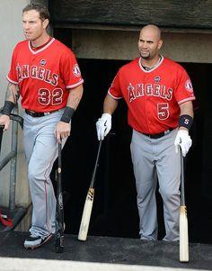 Josh Hamilton and Albert Pujols, Los Angeles Angels of Anaheim