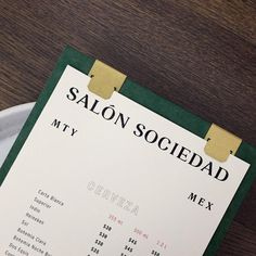 "581 Likes, 2 Comments - Visual Journal (@visualjournal.it) on Instagram: ""Salón Sociedad by @communalstudio on Visual Journal - #branding #brandingdesign #identity…"""