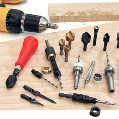 Learn how to select woodworking countersink drill bits for flush-set and plugged screws. | Rockler Skill Builders
