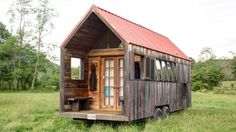 Self-professed design geek Aaron Maret has finally completed his very own micro home on wheels.