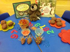 mmm ... chocolate dough! How many hedgehogs can you make?  What else can you make? Choose any resources you  want to use from the shelves!