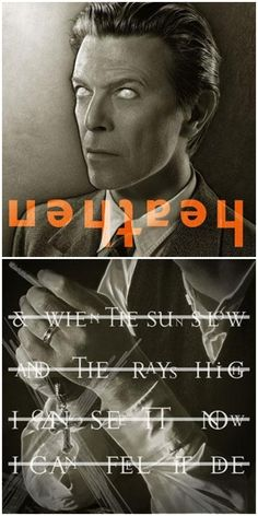 Bowie by Jonathan Barnbrook