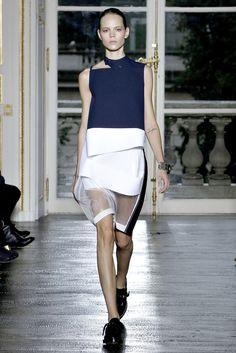 Balenciaga | Spring 2011 Ready-to-Wear Collection | Freja Beha Erichsen Modeling | Style.com
