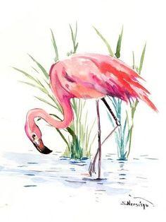 Giclee Print: Flamingo 4 by Suren Nersisyan : 48x36in