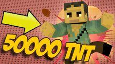 50,000 TNT VS St3pny  | Minecraft