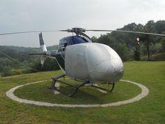 helicopter landed! #heliport #sky