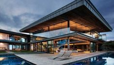 Double volume cliff-top estate in South Africa: Cove 3 House
