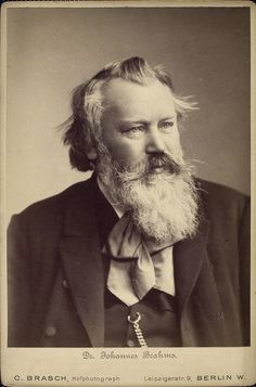 Image Title:  Johannes Brahms  Additional Name(s): Tucker, Benjamin Ricketson, 1854-1939 -- Collector