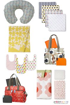 Orla Kiely Baby Products at @Target - love these fresh prints!