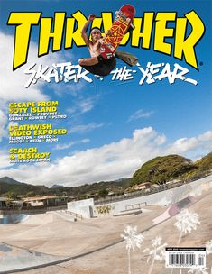 Thrasher Magazine - skateboarding news videos photos clothing skateparks events music and New Poster, Poster Wall, Poster Prints, Aesthetic Images, Retro Aesthetic, Band Posters, Cool Posters, Skateboard Room, Skate Photos