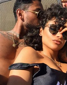 Did you hear? Miguel and his girlfriend of 12 years, Nazanin Mandi, are engaged! These two make for one of the sexiest couples ever — and these pics are all the proof you'll need: RELATED: Miguel & Longtime Girlfriend Nazanin Mandi are Engaged!