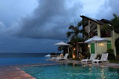 poolside villa at Acuatico