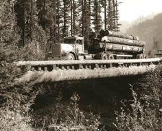Logging old school