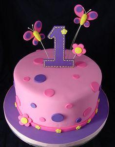 1st Birthday Cakes For Girls | First Birthday Cake