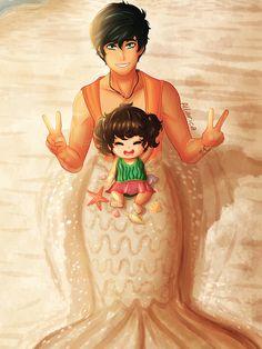 Around Camp Half-Blood — allarica: my big brother is a mermaid so i got...