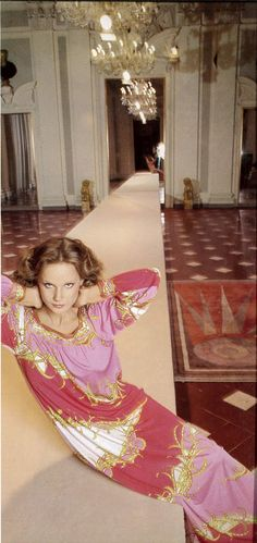 Vogue Paris 1975 Pucci Gaby Wagner by Barbieri  | The House of Beccaria