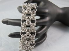 Silver  Filagree bracelet by TheveninJewelry on Etsy, $40.00