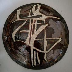 Danzando-ceramica smaltata,diam cm 60,2016, Marilù Viviano
