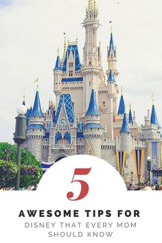 Planning a trip to Disney this year? Check out these 5 tips that every mom who is planning a trip to Disney should know!