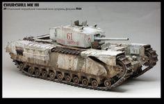 Lend lease Churchill Mk III   Roman Y