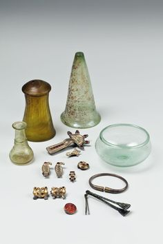 Alamannic grave finds of the 5th / 6th Century Romano-Germanic Museum in Cologne | Permanent collection