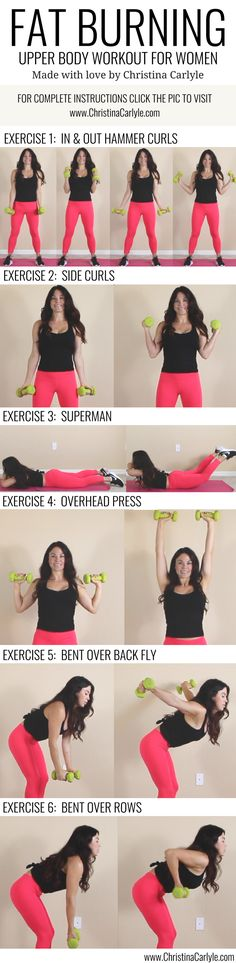Beginner Workout Routine to Lose Arm Fat