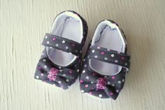 maryjane baby girl shoes newborn velcro strap by SWAGbooties, $35.00