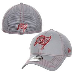 New Era Tampa Bay Buccaneers NFL Neo 39THIRTY Flex Hat - Ash