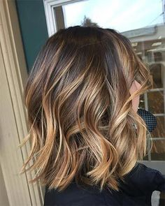 Brown Hair Colors Discover On the Rise Root-Lifting Hair Mousse for Colored Hair - Pureology Medium Hair Styles, Curly Hair Styles, Medium Curly, Long Curly, Medium Hair Bobs, Dark Hair Bobs, Long Blond, Brown Blonde Hair, Brunette Balayage Hair Short
