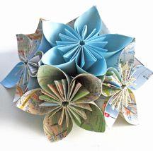 Créer des fleurs en origami                                                                                                                                                                                 Plus