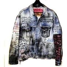 Himumimdead Old Dave the Tweeker Replica Jacket / customised Denim jacket