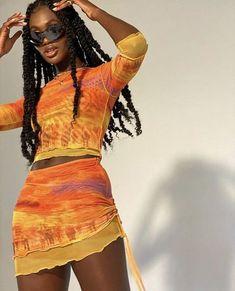 2000s Fashion, Look Fashion, Black Girl Fashion, Chanel Fashion, Look Hip Hop, Mode Outfits, Fashion Outfits, Fashion Clothes, Womens Fashion