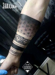 Ornamental tattoo on forearm by Feeling Good - Ornamental tattoo on forearm by . - Ornamental tattoo on forearm by Feeling Good – Ornamental tattoo on forearm by Feeling Good – - Tribal Forearm Tattoos, Tribal Armband Tattoo, Geometric Sleeve Tattoo, Armband Tattoo Design, Forarm Tattoos, Tribal Sleeve Tattoos, Forearm Tattoo Design, Tattoo Sleeve Designs, Leg Tattoos