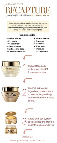 Recapture your youthful skin with Anew Ultimate from Avon