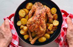 Κοτόπουλο στο φούρνο #pestomenafai Turkey, Meat, Food, Turkey Country, Meals, Yemek, Eten